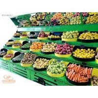 Tablalı Meyve ve Sebze Manav Reyonları